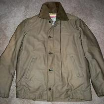 Vtg Wwii Era Commando 13.5 Oz Jungle Cloth Coat Field Barn Chore Work Jacket Med Photo