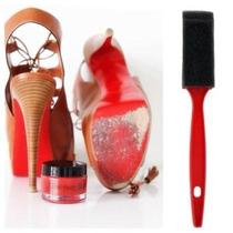 Walk on Red Sole Restoration Touch Up Paint Set Christian Louboutin Womens 34.5 Photo