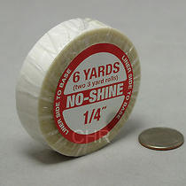 Walker No Shine Tape Roll 1/4