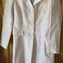 Wallis Long Coat Size 12 Blush Pink Dress Coat  Photo
