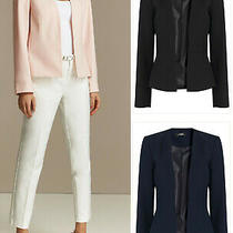 Wallis New Tailored Crepe Jacket Blazer in Blush/pink Black & Navy Blue Photo