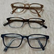 Warby Parker Eyeglasses Lot of 3 Women's Frames 359 207 325  Photo