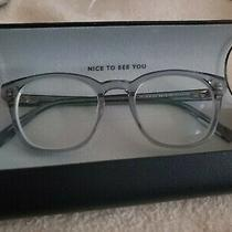 Warby Parker Glasses in Case With Box Navy Blue New Photo