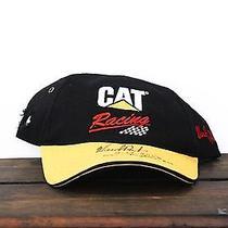 Ward Burton 2002 Daytona 500 Cat Racing Autograph Signed Nascar Hat Baseball Cap Photo