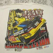 Ward Burton 22 Cat Racing Heavy Duty Competition Vintage '01 T-Shirt-Xl Nascar  Photo