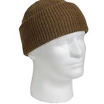 Watch Cap - Gi Type Wool Made in Us Coyote Brown One Size by Rothco Photo