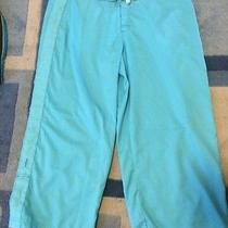 Water Girl Patagonia Capris Pant Size 14 Light Blue Photo