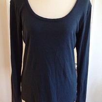 Water Girl Patagonia Dark Teal Shirt Top L Organic Cotton Photo