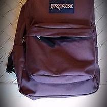 Water Resistant Burgundy Jansport Backpack Photo
