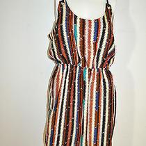 Waverly Grey Size 8 Multi-Color Sleeveless Dress New 245 Photo