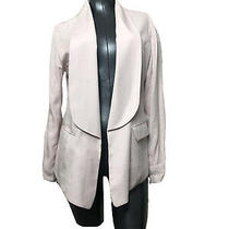 Waverly Grey Soft Pink Tencel Blazer Career Jacket Womens Size Large Photo