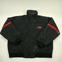 Wear Guard Mens Airborne Express Black Full Zip Fleece Lined Jacket Size Xl Photo