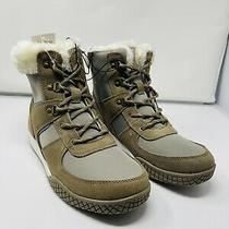 Weatherproof Vintage Ladies' Chloe Sneaker Boot (Tan/blue Numeric10 Photo
