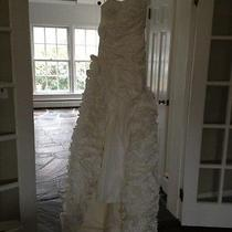 Wedding Dress Gown Brand New Custom Made Gorgeous Size 4 6 8 Amsale Jenny Lee Photo