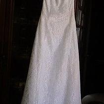 Wedding Dress Jessica Mcclintock Size 6 Lined Brand New Bought by Mistake Photo