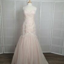 Wedding Gown Corset  Size 14 Color Blush  Maggie Sottero Photo