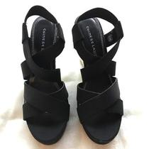 Wedge Sandals Chinese Laundry (Dilly-Dally)black New With Box. 6.5 Photo