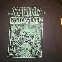 Weird Fantasy Band T-Shirt (The Ergs Hunchback Night Birds) Photo