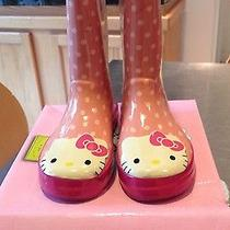 Western Chief Girl's Hello Kitty Rain Boots Photo