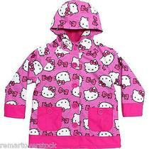 Western Chief Girls Hello Kitty Rain Coat Size 4t -6682 Photo