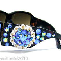 Western Cowgirl Concho Sunglasses Using Swarovski Elements Crystals  Bling Photo