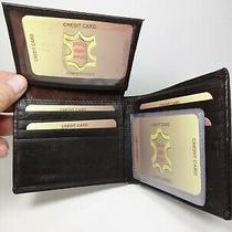 Western Express Brown  Genuine Leather Bi-Fold Wallet-8.cards2 Id'smin-2237/br Photo
