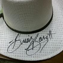 Western Express Cowboy Hat Signed Brian Barrett Size 6 3/8 Photo