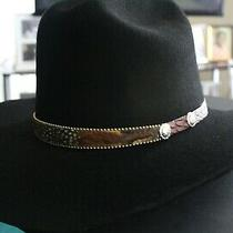 Western Express Inc Cowboy Hat - 71/4 - Black-Red Lining Photo