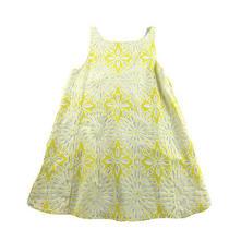 Weston Lemon Lace Yellow Swing Dress Swoop Back Small S Anthropologie Womens Photo