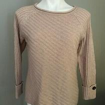 Westport Dressbarn  Blush Color Pullover Sweater Size Petite Medium Worn Once Photo