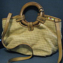 Wg Fossil Woven Purse Hand Bag Photo