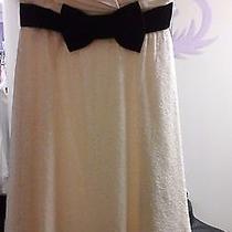 White and Black Betsey  Johnson  Dress  Photo
