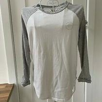 White and Grey Long Sleeved Top Uk 8 Jack Wills Excellent Hardly Worn Condition Photo