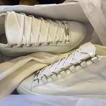 White Balenciaga Mens Sneakers Photo