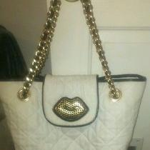White Betsey Johnson Purse Photo