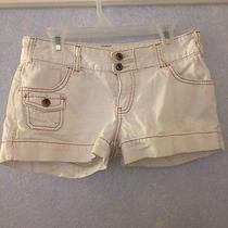 White Billabong Shorts Size 1 Photo