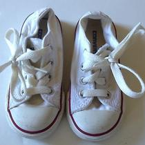 White Converse Low Tops 6 Photo