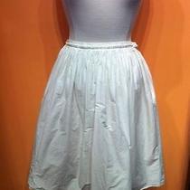 White Cotton a.p.c Skirt Photo