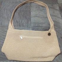 White Crocheted Sak Handbag Photo