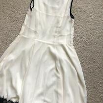 White Express Fit Flare Dress Size 0 Photo