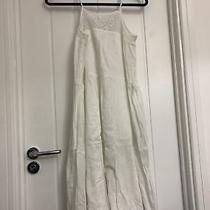 White Gap Flowy Tunic Summer Cotton Dress Spaghetti Strap Size S Photo