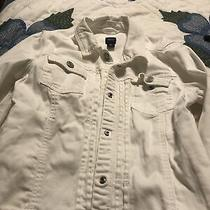 White Gap Kids Jean Jacket Size Xxl Photo