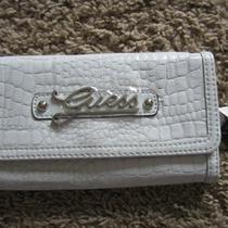 White Guess Wallet Photo