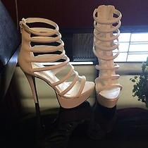 White Heels Size 7  Photo