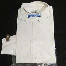 White Hermes Paris Dress Shirt Made in France Photo