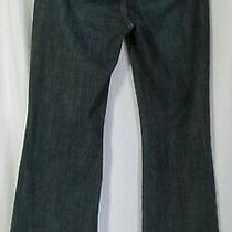 White House Black Market Bootleg Jeans Blanc 4 R (30x33) Denim Pants Blue 3 Photo