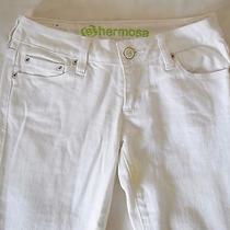 White Jeans (Size 1 Long) Photo