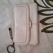 White Leather Small Fossil Wallet and Change Purse Woman Teen Trendy Photo