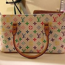 White Louis Vuitton Purse Photo