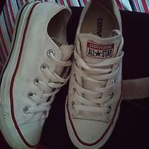 White Low Top Converse Size Womens 5 Photo
